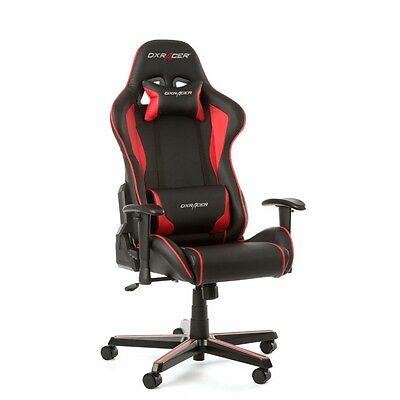 DXRacer Formula Series Gaming Chair - Black/Red OH/FL08/NR