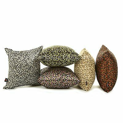 New Modern Polka Small Square Checked Pattern Handmade Cushion Cover & Filling