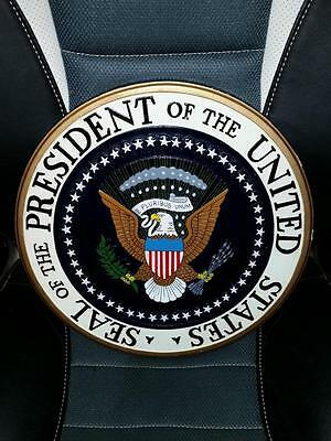 """Seal of the President of the United States Wood Plaque Wall Hanging 14"""" POTUS"""