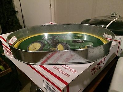 John Deere Serving Tray Aluminum