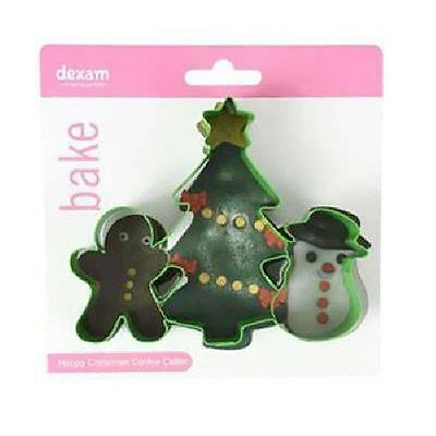 Christmas Dexam Cookie Cutter Set • £2.99