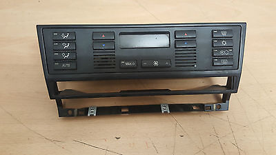 BMW 5 E39 [97-03] Heater Air Con AC Climate With MAX Control Unit Panel