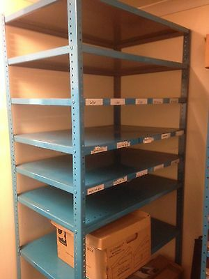 Heavy Duty Metal shelving  X 8 Shelves- all Adjustable to your need