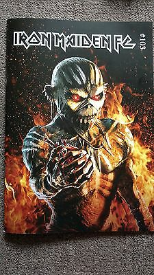 Iron Maiden Fan Club Magazine #103 Book of Souls official NEW