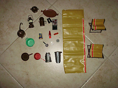 Barbie  &   Ken  Camping Gear From 1964 And On