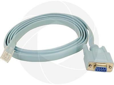 Cab-Console RJ45 Data Cable RJ45 to DB9 72-3383 for Cisco Switch Router Program