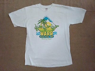 WARR(World Airline Road Race)2003 Official T-shirt, Orlando, FL, White