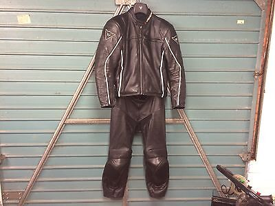 Dainese Leathers 2 Piece Black 50 & 52