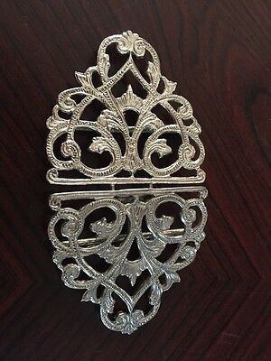 Lovely  Sterling Silver Nurses Belt Buckle
