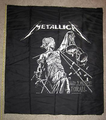 Vintage 1989s Metallica And Justice for All Banner/Tapestry - FREE SHIPPING