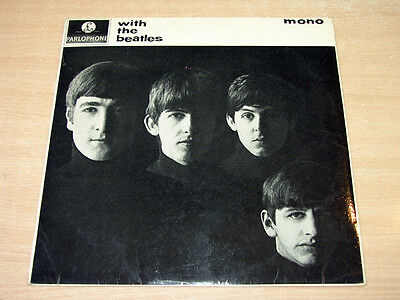 The Beatles/With The Beatles/1963 Parlophone Mono LP/First Issue/Jobette