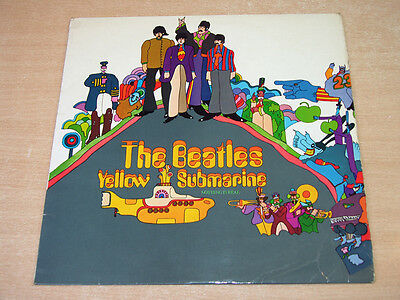 The Beatles/Yellow Submarine/1969 Apple Mono LP/First Issue