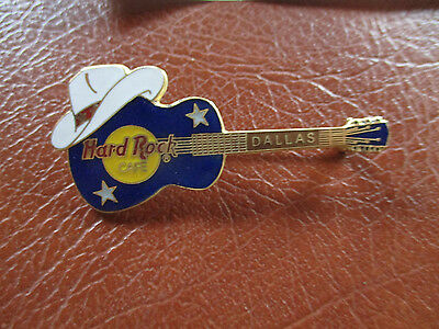 Hard Rock Cafe Dallas Guitar Pin