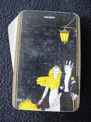 VINTAGE ART DECO 1930's PACK OF GOODALL PLAYING CARDS - TODAY - HELEN McKIE
