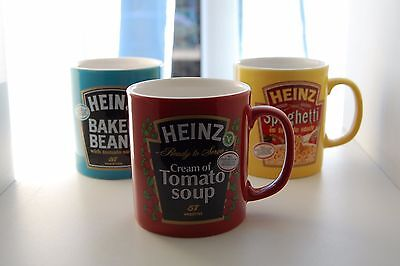 Three Heinz Staffordshire Promotional Mugs...