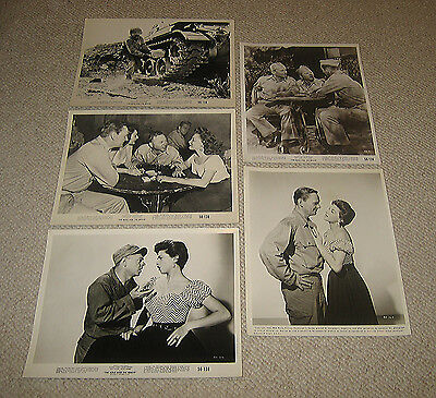"""""""Bold and the Brave"""" 1956 Mickey Rooney Nicole Maurey Wendell Corey 11 diff 8x10"""