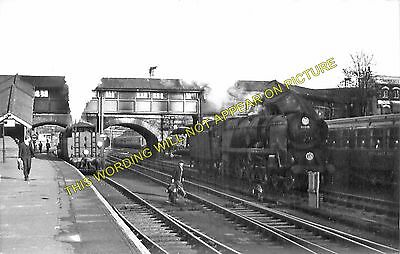 L/&SWR. 14 Exmouth and Pinhoe Lines Exeter Central Railway Station Photo