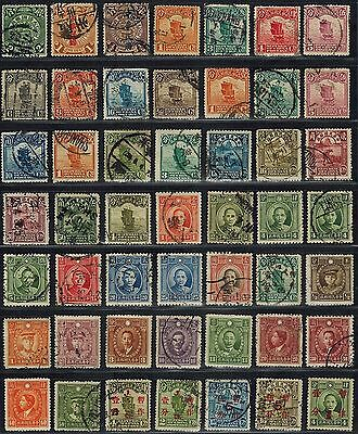CHINA Sc# 124 // 341  Used 49 early collection (1908-1937) Postage