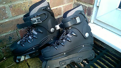 boxed Zink black rollerblades UK size 6 Collection Folkestone Kent only