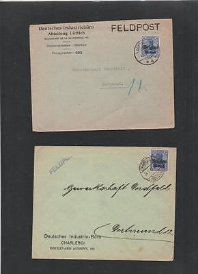 Germany Ww1 1916 Occupation Of Belgium Cover