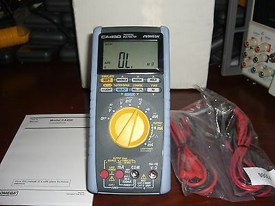 Omega CA450 Process Multimeter **TESTED to Omega Full Spec's** Leads Manual NEW
