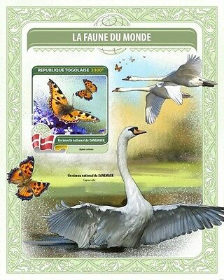 Z08 TG16407b TOGO 2016 National insect of Denmark MNH