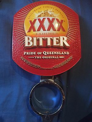 XXXX Bitter Beer Tap Badge, Decal, Top Great Condition