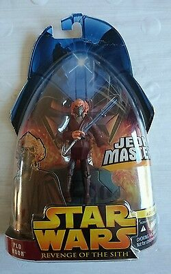 Star Wars Jedi Master Plo Koon revenge of the Sith Action Figure