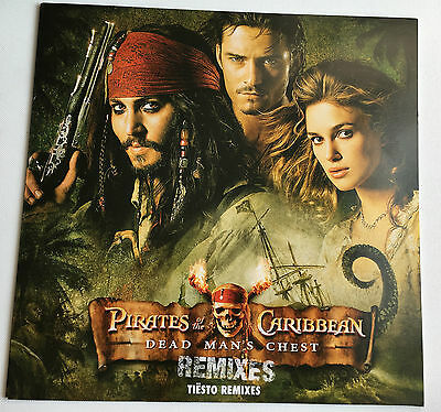 Pirates Of The Caribbean = Dead Men's Chest He's A .. Tiesto Remixes 12'' Record