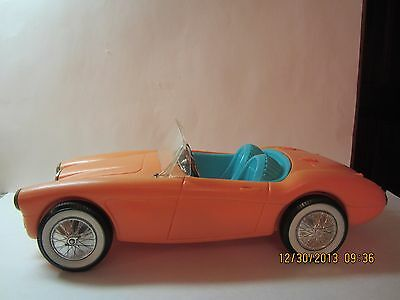 Vintage Austin Healy Barbie Sports Car By Irwin 1960's