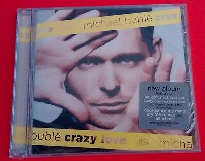 Michael Buble Crazy Love Cd Haven't Met You Yet Sealed! Cry Me A River Brand New