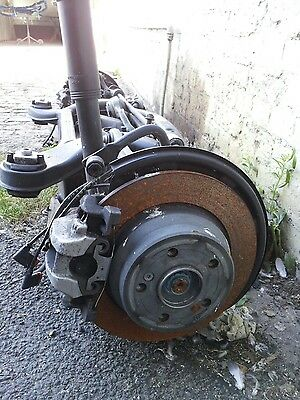 2015 Mercedes E Class E220 Rear Axle Subframe With Diff & Driveshafts