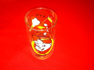 Vintage Alvin The Chipmunks 1985 Bagdasarian Production Drinking Glass