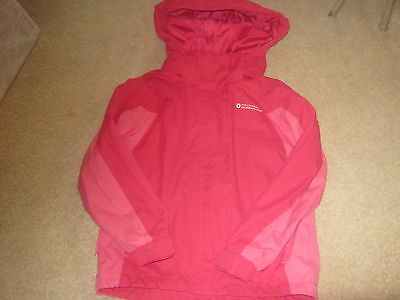 Mountain Warehouse Girls Pink Raincoat Age 5-6