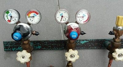 Original CIG Gauges Oxy & Acetylene