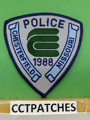 Chesterfield, Missouri Police Shoulder Patch Mo