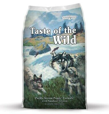 """Taste of the Wild """"Pacific Stream"""" Dry Puppy Food with Smoked Salmon 2kg"""