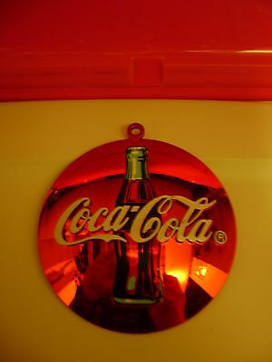 Coca Cola Christmas Tree Ornament with Hologram