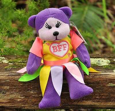 NEW Charlize the Best Friend Bear - Beanie Kid Collectable