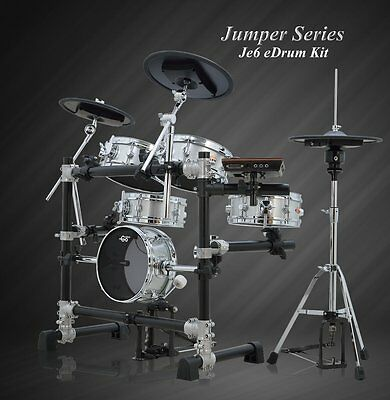Goedrum Je6 Electronic Drum Set / Electric Drum Kit / Digital Drum Set/Mesh Head