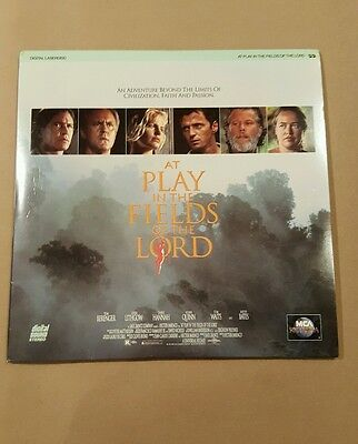 RARE LASERDISC AT PLAY IN THE FIELDS OF THE LORD HTf