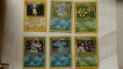 Pokemon Neo Genesis near full Complete Set /111 NM only missing 4 holos