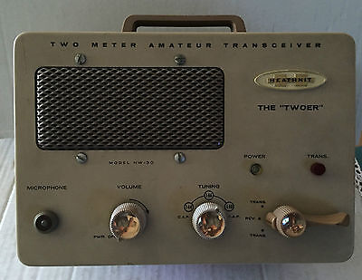 "Heathkit Ricetrasmettitore ""the Twoer""  Vintage Radio Perfect!!"