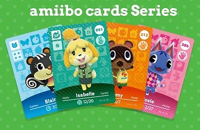 Amiibo Cards - Animal Crossing Happy Home Designer - Series 1 And 2 - Na / Us