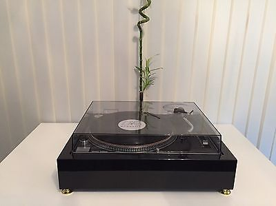 TECHNICS 1200 / 1210 Piano Black Plinth Zarge(WITHOUT TURNTABLE!!)