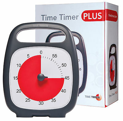 TIME TIMER PLUS *New & Improved* Visual Time Management AUTISM ADHD Aspergers