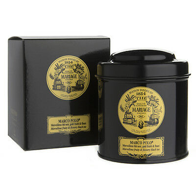 NEW Mariage Freres Loose Leaf Marco Polo Tea Canister