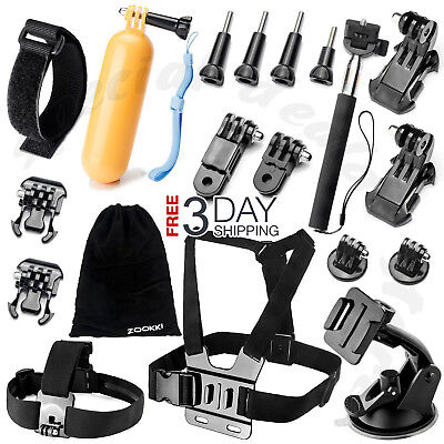 All-in-1 Essentials Accessories Kit for GoPro Hero 7/6/5/4/3 Session Hero LCD