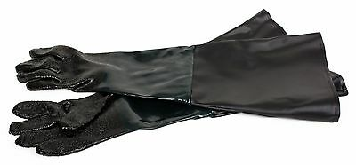 """Replacement Rubber Gloves 8"""" x 24"""" for 60, 110, 260 Gallon Sandblast Cabinet"""