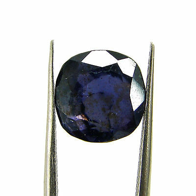 4.16 Ct Certified Natural Blue Iolite Oval Untreated loose Gemstone  - H 117796